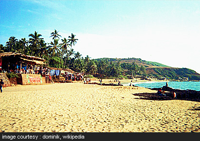 Anjuna Beach, holiday packages in Goa, honeymoon packages in Goa