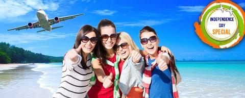 Save ₹2,500 on Domestic flights