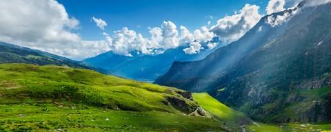 Splendid Panorama of Himachal