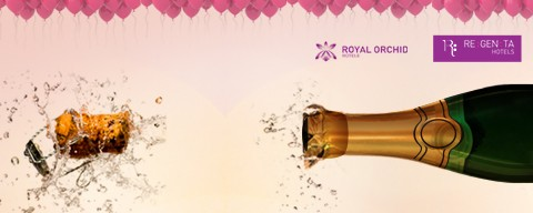 Flat 25% OFF on Royal Orchid Hotels