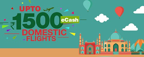 Up to ₹1,000 OFF on domestic flights