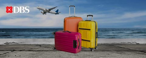 Travel light with DBS Bank