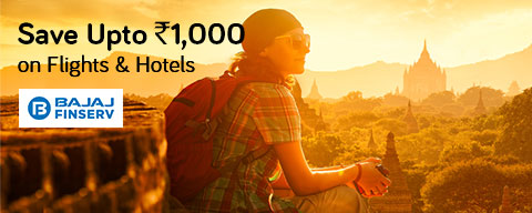Book perfect vacations with Bajaj EMI card