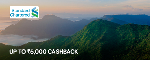 Up to Rs 5,000 cashback