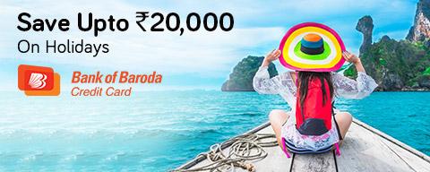 Sale with Bank of Baroda Credit Card