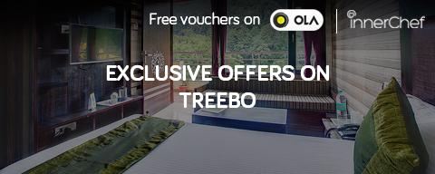 Get vouchers for Ola & InnerChef