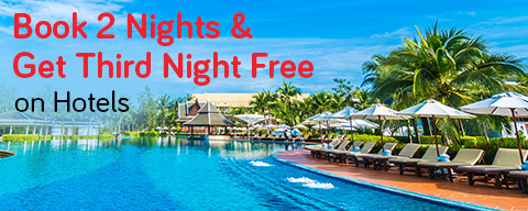 Buy 2 and get 1 night free